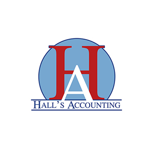 Hall's Accounting Logo